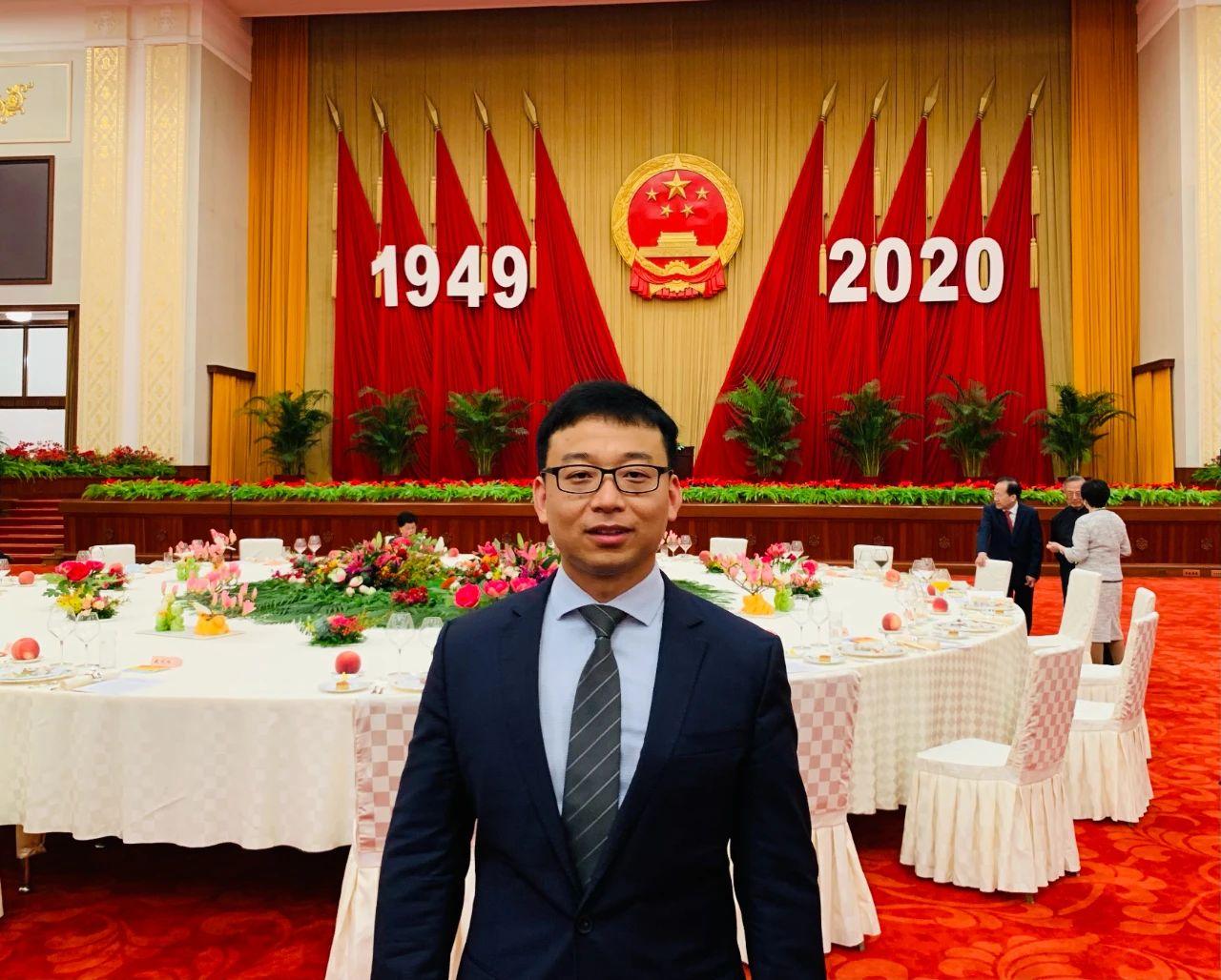 博联新闻 | 马江涛博士出席国庆招待会