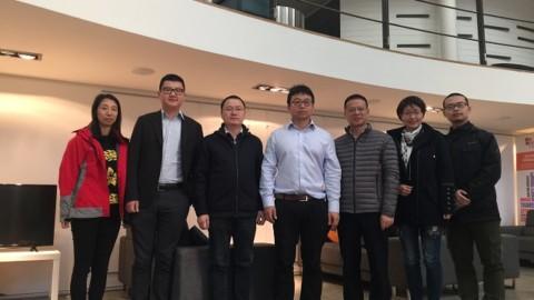 博士联盟与深圳-爱丁堡国际创意产业孵化中心接待苏州开发区考察团