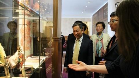 博士联盟成功接待杭州萧山区赴英国爱丁堡访问团