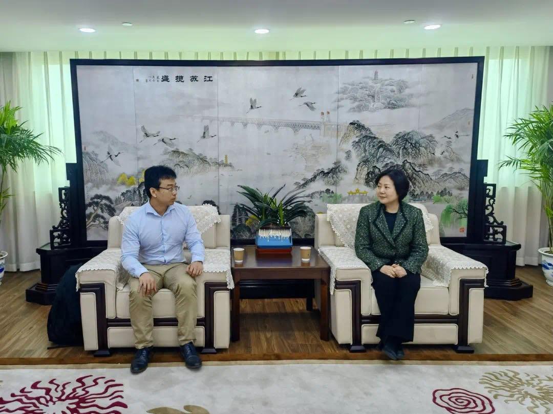博联新闻|博士联盟创始主席马江涛博士一行到访江苏省侨联